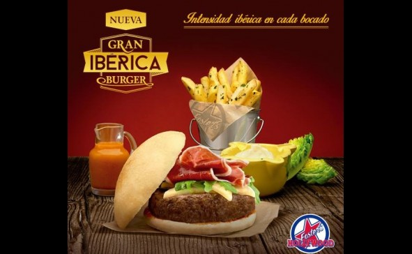 Gran ib rica burger en foster 39 s hollywood as cancelas as for La iberica precios