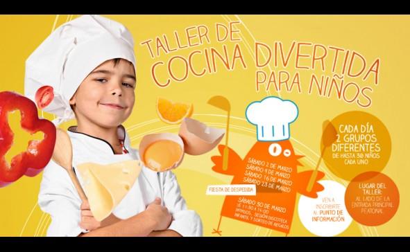 As cancelas ofrece clases de cocina divertida para ni os for Cocina divertida para ninos